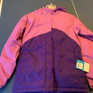 NWT Columbia winter jacket Girls size L